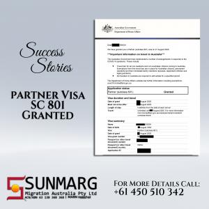 Partner Visa 801
